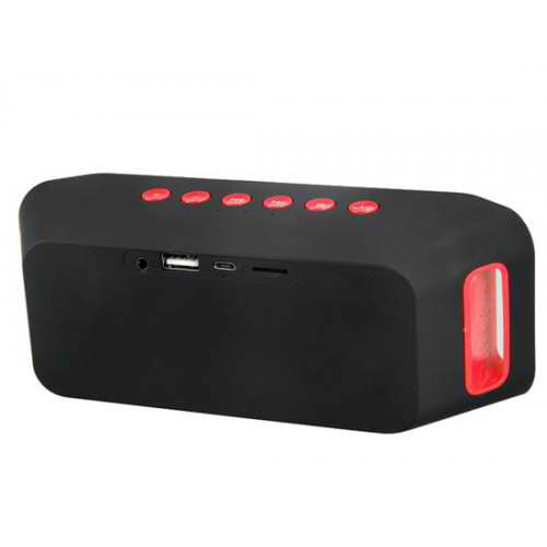 ลำโพง Wireless Speaker Mini Bluetooth Speaker Super Bass ลำโพง Bluetooth รุ่น S204
