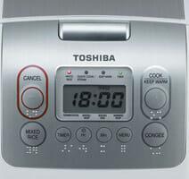 Toshiba หม้อหุงข้าวคอมพิวเตอร์ รุ่น RC-10NMF