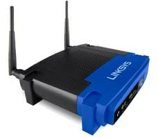 linksys-wrt54g-routers-side