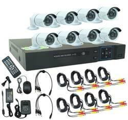 Gateway AHD CCTV ชุดกล้องวงจรปิด 4 กล้อง HD Gateway-J-860 - White