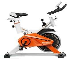 KF-FIT จักรยานออกกำลังกาย SPINNING BIKE MAKETEC สีขาว-ส้ม