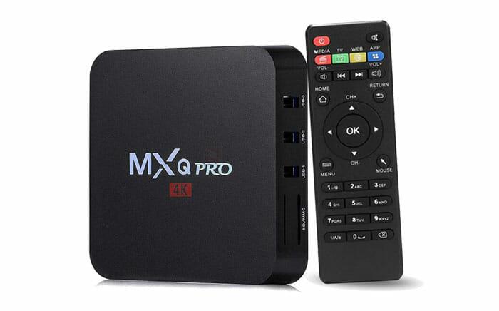 4K Android TV Box MXQ Pro-4K S905WQuad Core 7