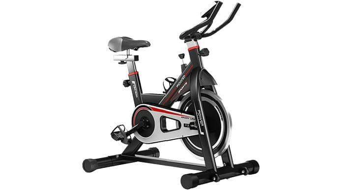 จักรยานออก Spin Bike สปินไบค์ จักรยานกำลังกาย Exercise Bike จักรยานฟิตเนส Spinning Bike Stationary Bike รุ่น Hawk ฟรี ! แฮนด์จับวัดชีพจร ที่ยึดมือถือติดแฮนด์ ที่วางไอแพด