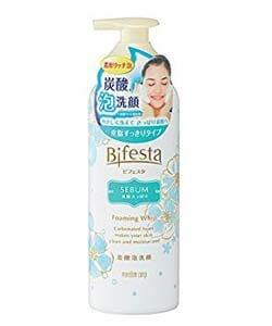 Bifesta Foaming Whip Sebum โฟมล้างหน้าปราบสิว