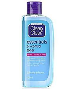 Clean and Clear Essentials Oil-Control Toner คลีน แอนด์ เคลียร์ เอสเซนเชียล ออยล์-คอนโทรล โทนเนอร์