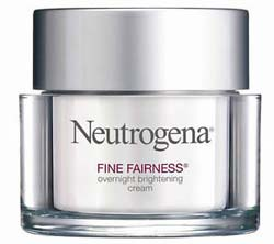 Neutrogena นูโทรจีนา Fine Fairness Overnight Brightening Cream