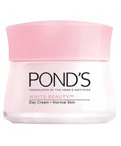 Pond's พอนด์ส ไวท์ บิวตี้ เดย์ครีม สีชมพู