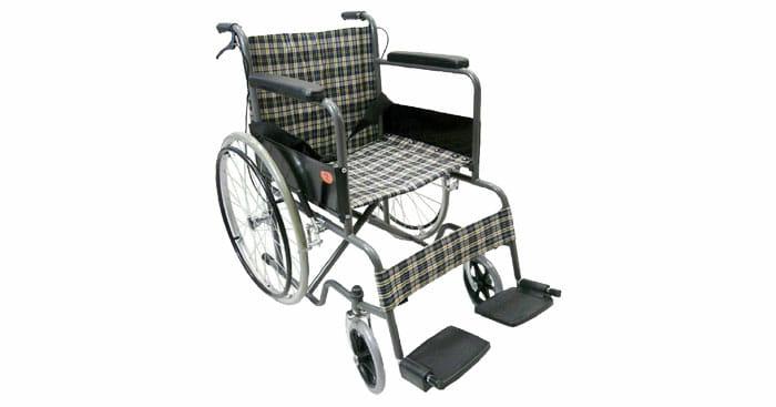 KT รถเข็นผู้ป่วยคนชรา Wheelchair คนแก่ วีลแชร์ พับได้ KT907EB