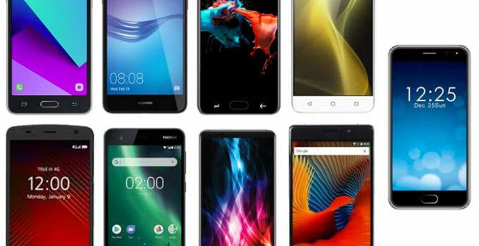 9 สุดยอดสมาร์ทโฟนราคาไม่เกิน 3,000 บาท ยี่ห้อไหนดี ในปี 2018