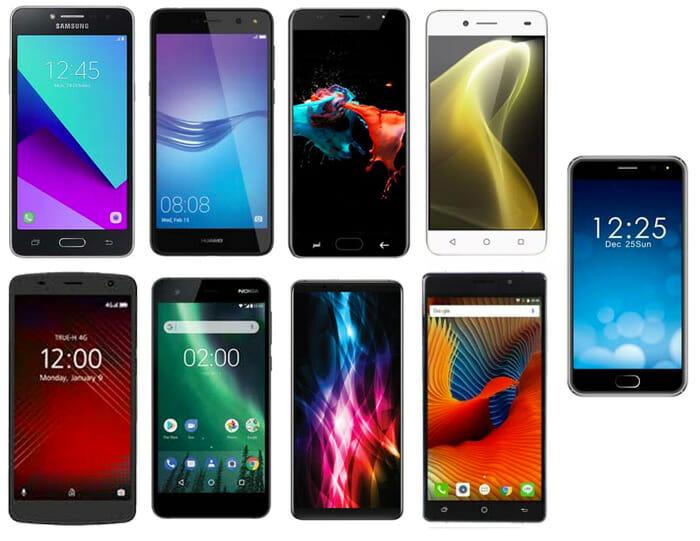 9 สุดยอดสมาร์ทโฟนราคาไม่เกิน 3,000 บาท ยี่ห้อไหนดี ในปี 2020