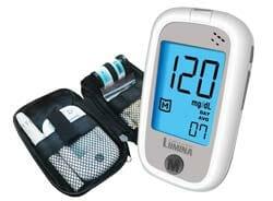 Lumina OK Meter SET COMBO เครื่องตรวจน้ำตาล เครื่องวัดน้ำตาล เครื่องตรวจเบาหวาน Blood Glucose Meter