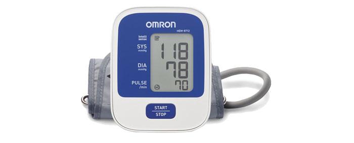 Omron เครื่องวัดความดัน รุ่น HEM-8712แถม adapter