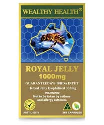 Wealthy Health Royal Jelly