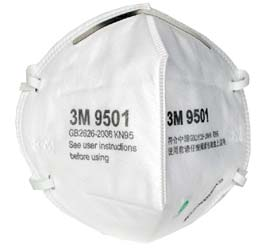 3M 9501 N95 Face Mask