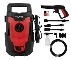 TAYO เครื่องฉีดน้ำแรงดันสูง 100 บาร์ 1200W