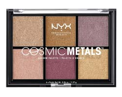 อายแชโดว์ NYX Professional Makeup Cosmic Metals Shadow Palette