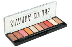Sivanna eyeshadow Luxury Velvet Eyeshadow อายแชโดว์เนื้อครีม 10 สีในตลับเดียว