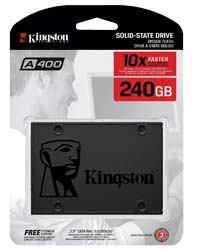 Kingston A400 240GB SSD 2.5 SATA 6Gb/s