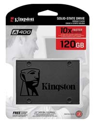 Kingston SSD solid state hard drive รุ่น A400