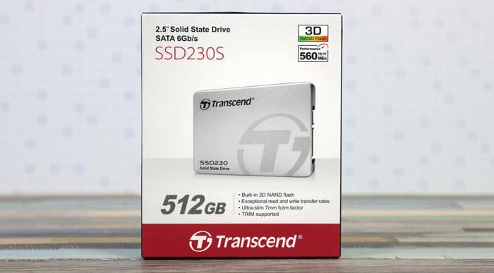 Transend SSD 512GB : SATA III