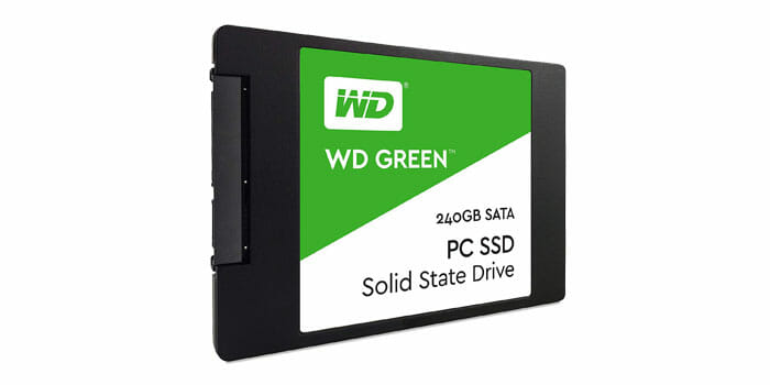 240 GB SSD WD GREEN SATA