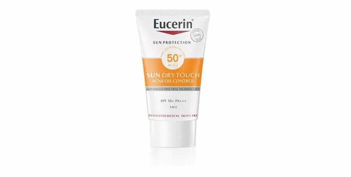Eucerin ยูเซอริน ซัน ดราย ทัช ออยล์ คอนโทรล เฟซ เอสพีเอฟ50+ 20 มล