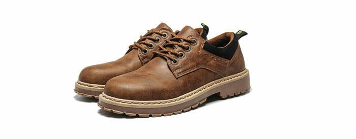 Marverlous Fashion รองเท้าหนังกลับ รองเท้าผู้ชาย No.7810