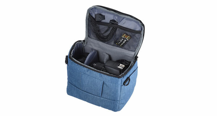 Andoer Cuboid กระเป๋าใส่ DSLR Camera กระเป๋าสะพายไหล่พกพา สำหรับ 1 Camera 2 เลนส์และอุปกรณ์ขนาดเล็ก