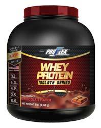 Proflex Whey Protein Isolate Chocolate [5 ปอนด์ - ขนาดใหญ่]