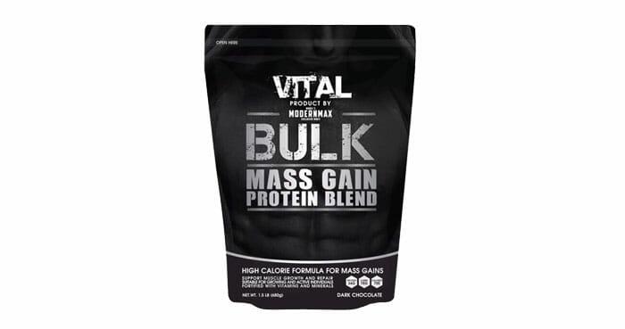 VITAL เวย์โปรตีน สูตรเพิ่มน้ำหนัก เพิ่มมวลกล้ามเนื้อ
