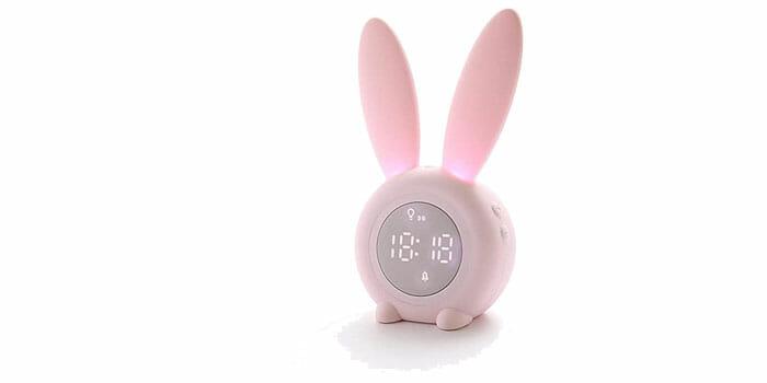 นาฬิกาปลุก Smart Voice รูปกระต่ายสุดน่ารัก
